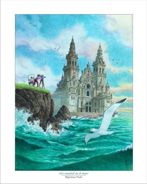 «The cathedral by the sea» (40x50)